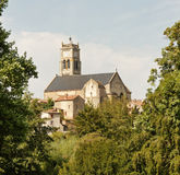 French Village Church Royalty Free Stock Image
