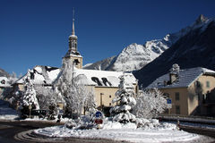 French village church Stock Photos