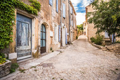 French Village, cottage from Provence, Royalty Free Stock Photos