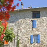 French Village, house in Provence. Royalty Free Stock Photos