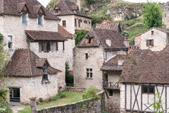 French Village Houses Royalty Free Stock Photo