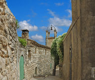 French Village Lane Stock Images