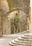French village in Provence. Royalty Free Stock Images