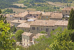 French village, from Provence. France. Stock Photography