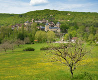 The French village Saint Medard Royalty Free Stock Photography