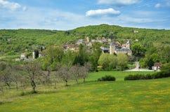 The French village Saint Medard Royalty Free Stock Photos