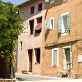 French Village street, Provence,France Stock Photo