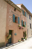 French Village street view Provence France Stock Photography
