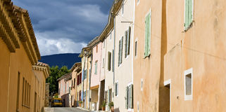 French Village, typical town. Royalty Free Stock Photos