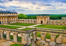 French-Vincennes. French-An HDR view of Vincennes Royalty Free Stock Photo