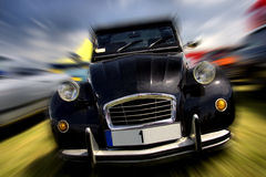 French vintage car Royalty Free Stock Photos