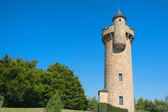 French water tower stock image