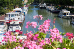 French Waterway Stock Photography