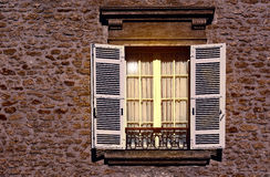 French Window Royalty Free Stock Photos