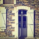 French Windows Royalty Free Stock Photos