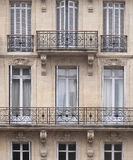 French Windows Stock Photo