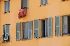 French Windows Stock Photo