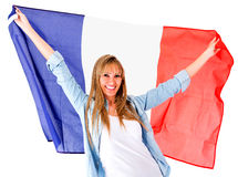 French woman Stock Photo