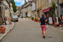 Vezelay Royalty Free Stock Photo