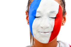 French woman portrait Stock Photography