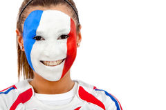 French woman portrait Royalty Free Stock Images