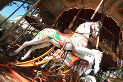 French wooden horse Royalty Free Stock Image