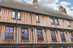 French wooden house Royalty Free Stock Photography