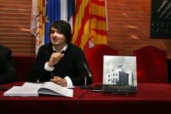 French writer's Tristan Castanier i Palau Stock Image