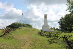 French WW1 memorial at Butte de Vauquois Stock Image