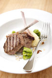 Frenched Lamb Cutlets Stock Image