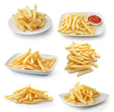 Frenchfries on white background Stock Image