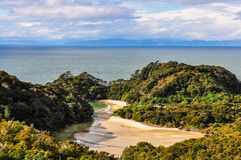 Frenchman Bay in Abel Tasman National Park, New Zealand Royalty Free Stock Photography
