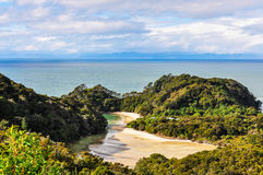 Frenchman Bay in Abel Tasman National Park, New Zealand Royalty Free Stock Photos