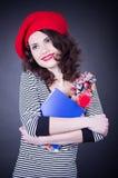 Frenchwoman student Royalty Free Stock Image