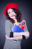 frenchwoman uczeń Obraz Royalty Free