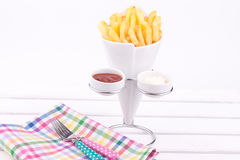 Frenh fries Stock Photos
