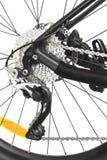 Freno de disco de la bicicleta Fotografía de archivo libre de regalías
