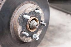 Freno de disco del coche Imagen de archivo