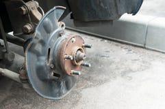 Freno de disco del coche Fotos de archivo