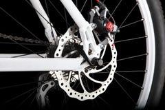 Freno de disco trasero de la bicicleta Imágenes de archivo libres de regalías