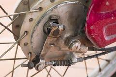 Freno de la motocicleta Imágenes de archivo libres de regalías