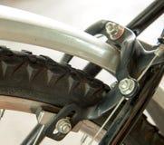 Freno del calibrador de la bicicleta foto de archivo