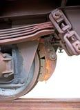 Freno del tren Imagenes de archivo