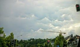 Freno della nuvola Fotografia Stock