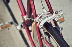 Freno di centro-tirata della bicicletta Fotografia Stock Libera da Diritti