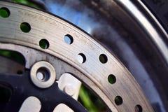 Freno a disco del motociclo Fotografia Stock