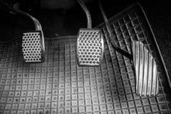 Freno ed acceleratore Fotografia Stock Libera da Diritti
