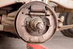 Freno a tamburo rimosso Fotografia Stock