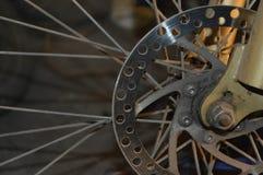 Frenos de disco del ciclo Imagen de archivo
