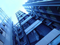 Frente azul Imagen de archivo